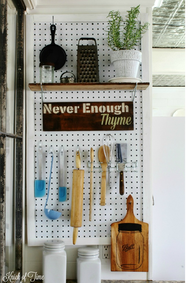 pegboard kitchen open designs in small apartments command center organizer knick of time organization station knickoftime net