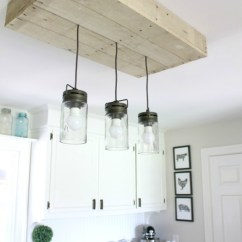 Kitchen Island Table Ideas Mats Target Talk Of The Town #32 - Diy Pallet Light Fixture + More ...