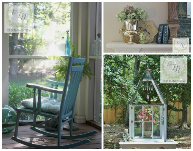Old Things New | Featured blogger at Talk of the Town