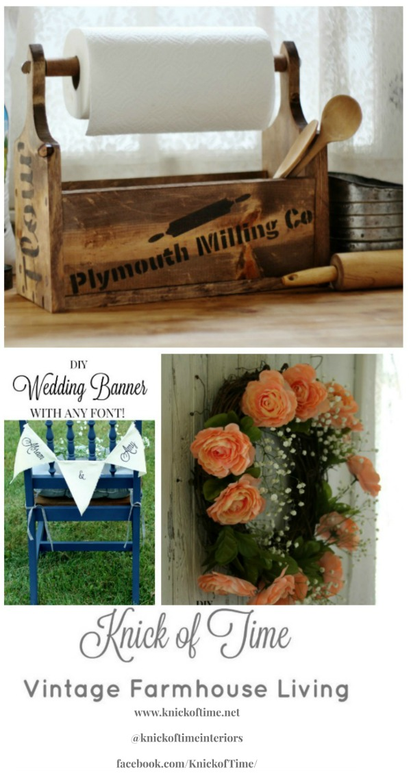 Knick of Time Vintage Farmhouse Living blog | www.knickoftime.net