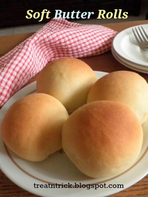 Soft Butter Rolls