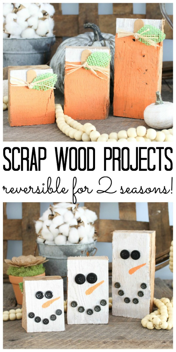 Reversible Scrap Wood Projects
