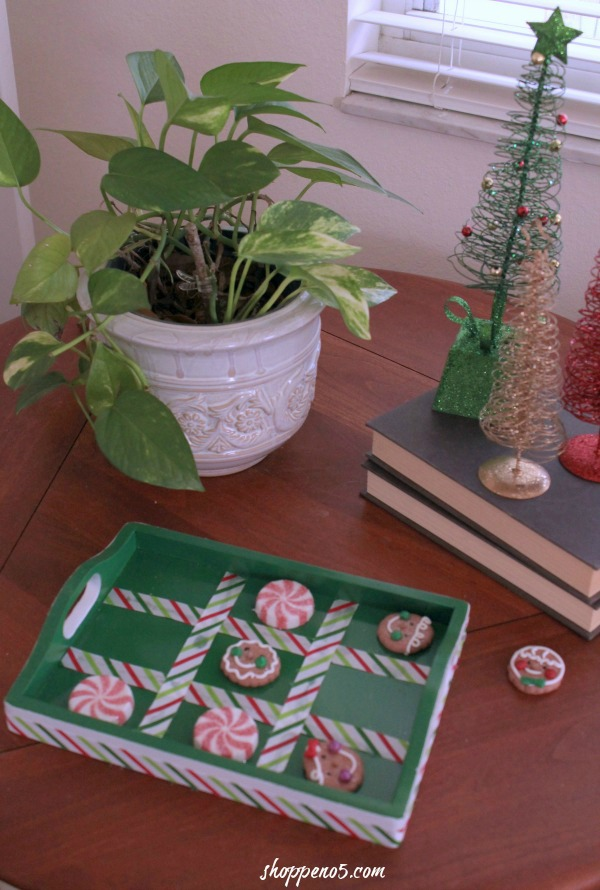 How To Make A Christmas Tic Tac Toe Game by Shoppe No. 5