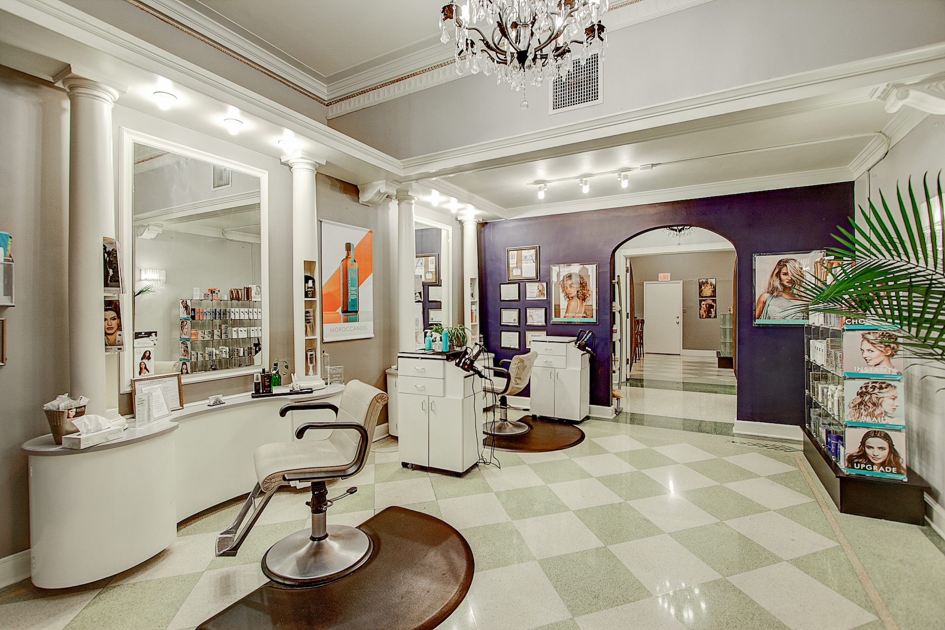 Hair Salon  Spa in Milwaukee WI  Organic  Natural Vegan  Knick Salon and Sp