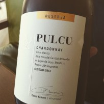Great example of the next generation of wine-maker