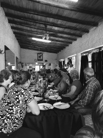 We gate crashed a lunch with the local vignerons. A kind thanksgiving for a good harvest!