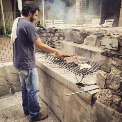 The man himself #SebastianZuccardi doing a great Asado