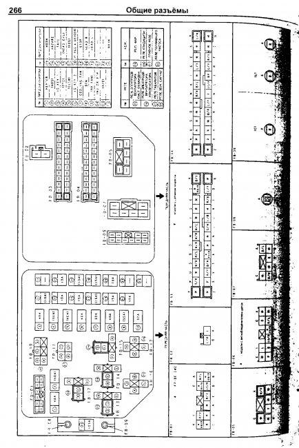 Схемы электрооборудования MAZDA PREMACY 1999-2005 » Схемы