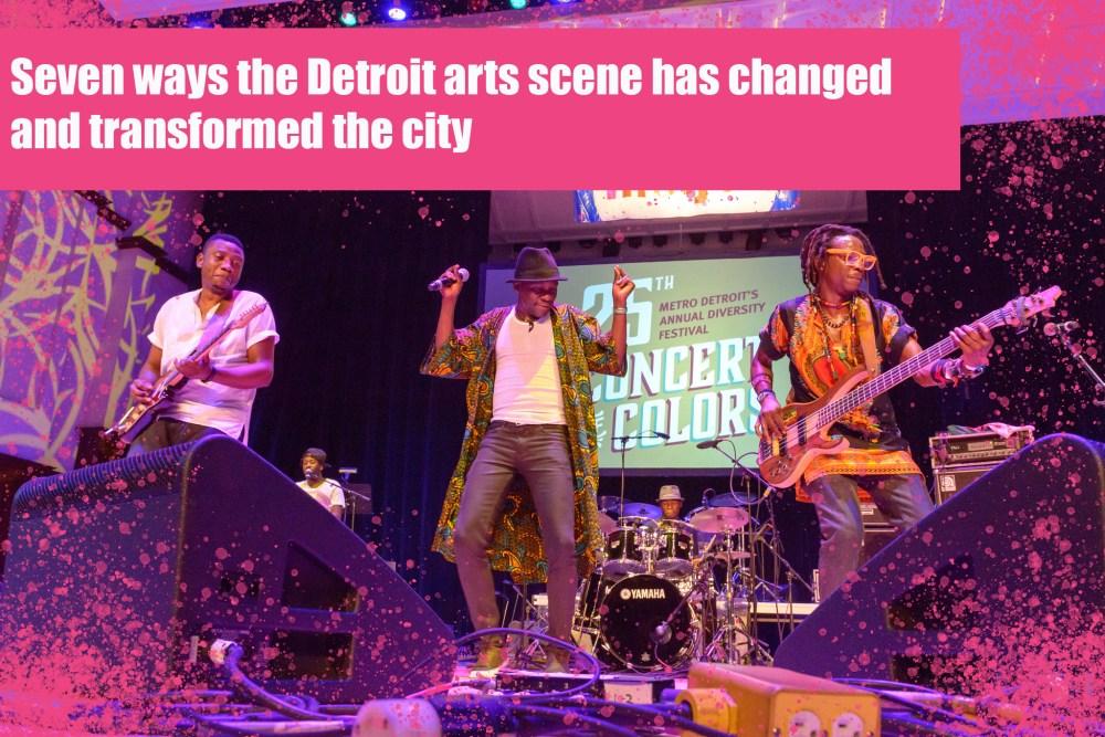 """<p> <em> Lisez <a href=""""https://kf.org/artsindetroit"""" rel=""""noopener noreferrer"""" target=""""_blank""""> notre blog </a> en soulignant les sept évolutions de l'écosystème artistique de Detroit. une décennie. & nbsp; </ em> </ p>"""