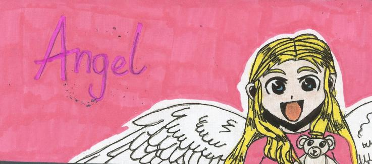 Angel by BlogObsessed Buddy