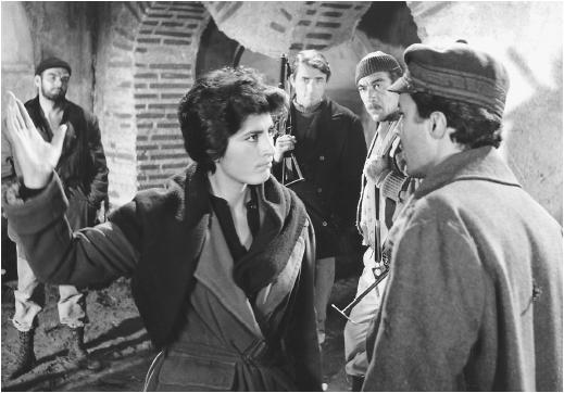 Irene Papas plays a Greek resistance fighter