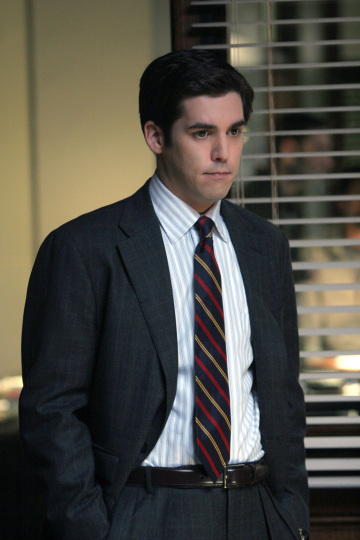 "On NBC's past legal drama ""Conviction"""