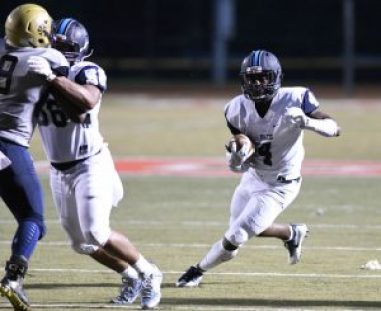 Senior Deon Jackson rushed for 149 yards in the Sept. 2 game against Hapeville Charter.