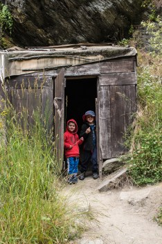 Kids and huts: a perfect match
