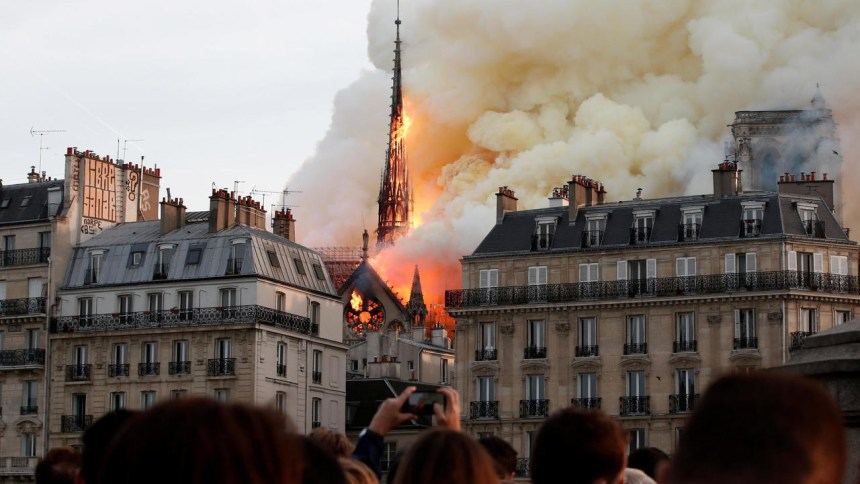 'Consensus' that Notre-Dame spire should be rebuilt in original form