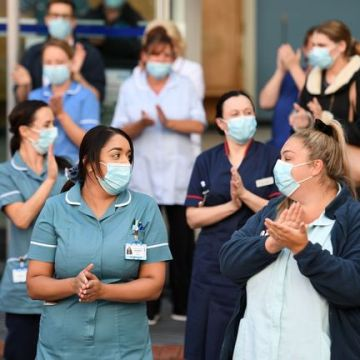 PM joins nationwide clap for the NHS on its birthday