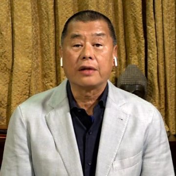 Hong Kong pro-democracy tycoon Jimmy Lai arrested