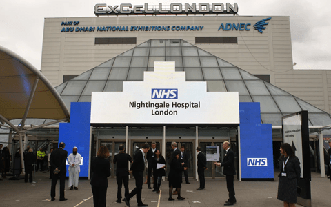 Whether or not London's Nightingale Hospital will reopen this winter