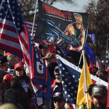 Arrests in Washington as Trump supporters assemble, rejecting Biden victory