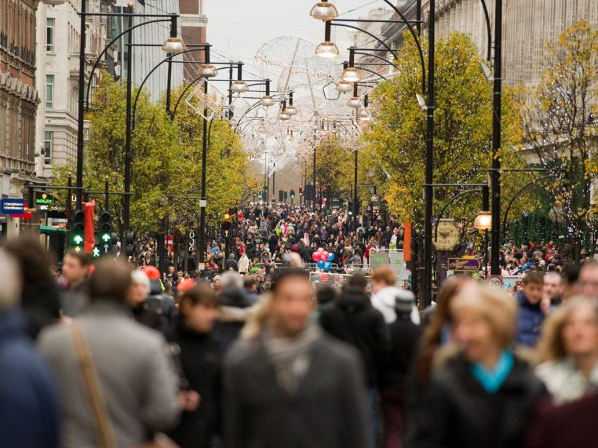 Early Christmas shopping gave UK retailers a surprise boost in October despite local lockdowns