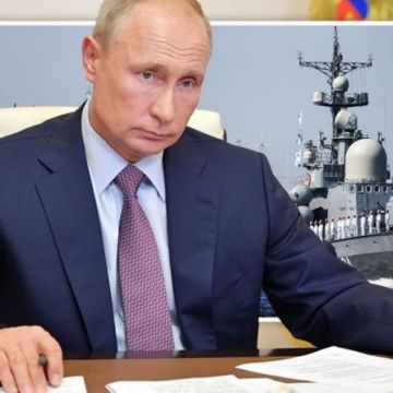 What's Putin planning? Russia sends NINE ships past UK waters as Navy 'ready to respond'