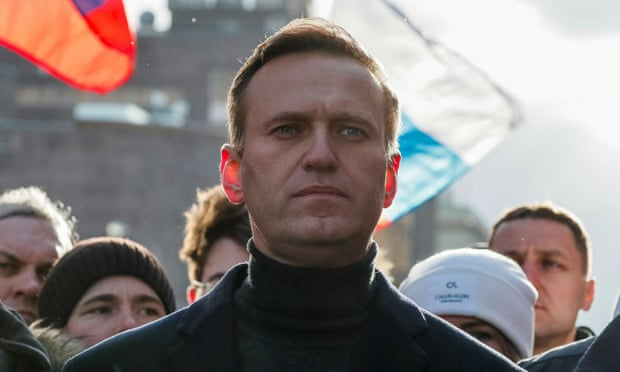 Navalny says Russian officer admits putting poison in underwear