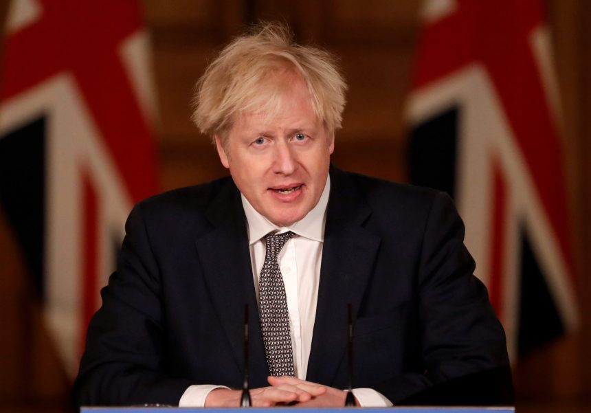 Boris Johnson claims new year 'an amazing moment' for UK as 2021 ushers in Brexit amid Covid crisis