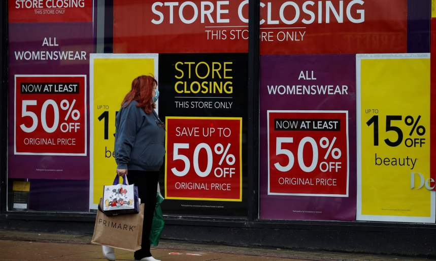UK high street lost 177,000 jobs in 2020, study finds
