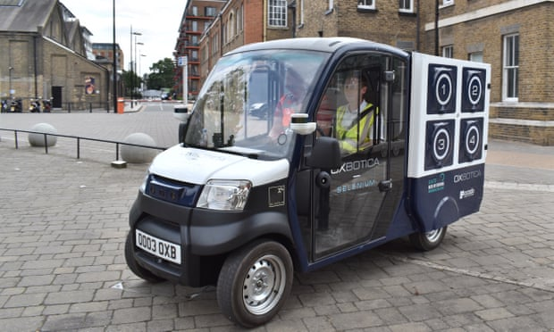 Ocado looks to 'kerb-to-kitchen' robot deliveries in £10m Oxbotica deal