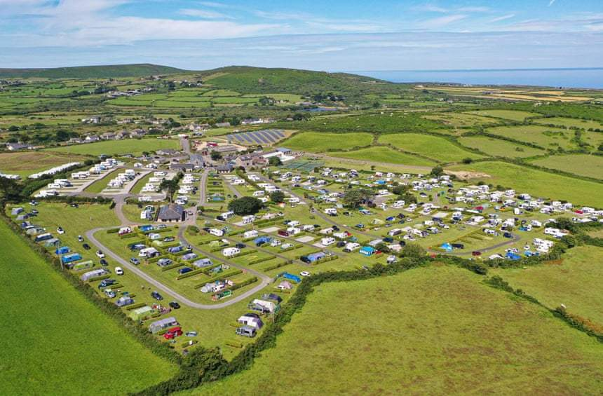 'It will be busiest year on record': England caravan parks boom as lockdown eases