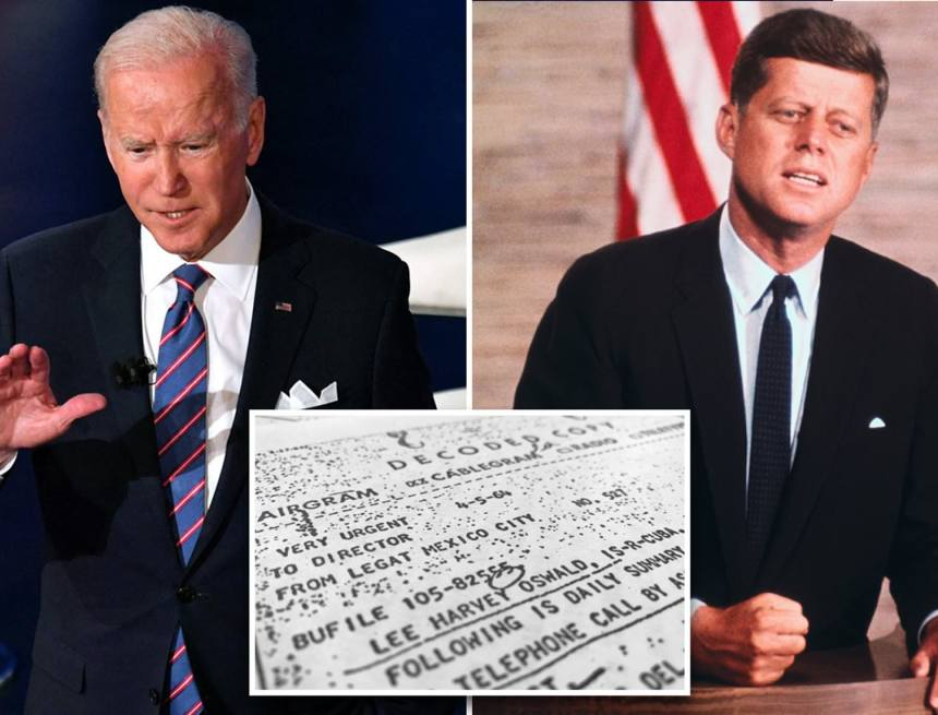Biden delays release of JFK assassination files due to pandemic