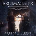 """""""Archmagister"""" Audiobook Cover"""
