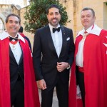 Ambassador, Sir Manny Gonzalez, Education Minister, middle Commander, Sir Thomas Kato and our Knight in Europe pose moments before ceremonies commence. Valetta, Malta