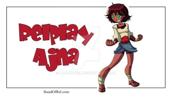 Ajna from Indivisible Fanart
