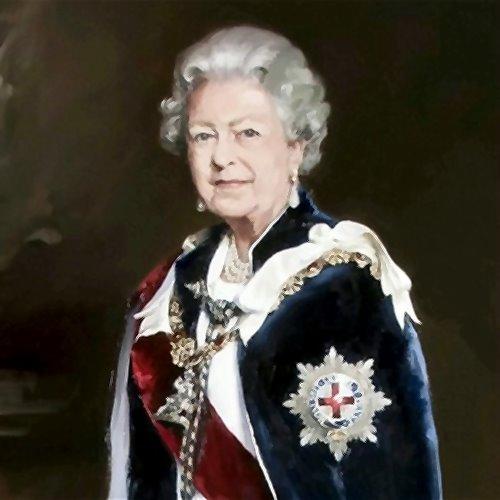 Queen Elizabeth II, painting (ca.2007)