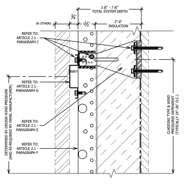 Knight MFI® System Rainscreen Attachment Guide