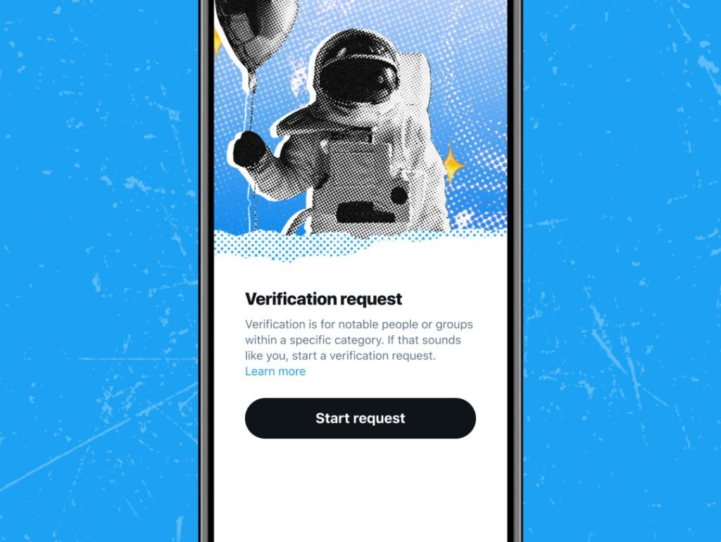 twitter verification program