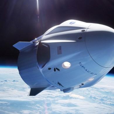 spacex lunar landing