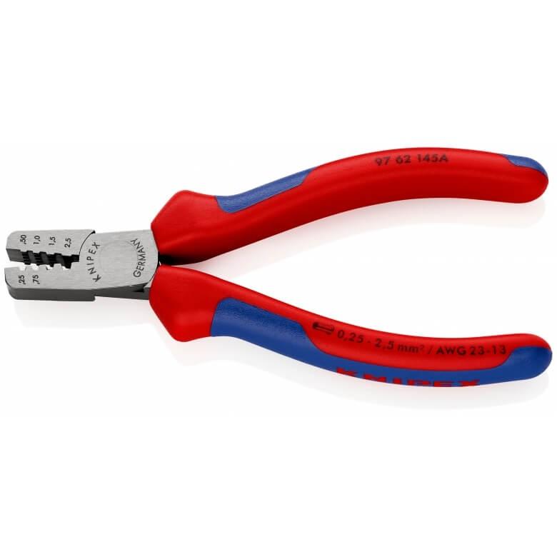 Инструмент для обжима концевых гильз KNIPEX 97 62 145 A KN-9762145A по цене 3 188 руб. в ...