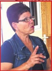 Betty da Fonte, de vrouw met wie Helmin Wiels tweeëntwintig jaar samen was