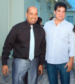 Robertico 'Robbie' dos Santos en George 'Jorge' Jamaloodin-1