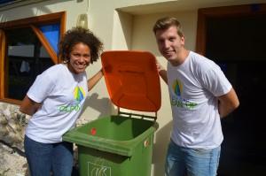 Initiatiefnemers Deva-dee Siliee en Maarten Schakel