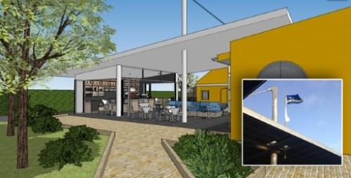 Spantenbier bij Chobolobo Café