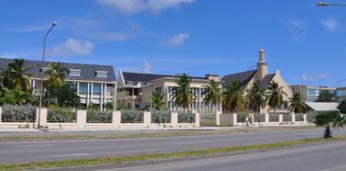 Het huidige ziekenhuis van Curaçao | Foto |  Persbureau Curaçao