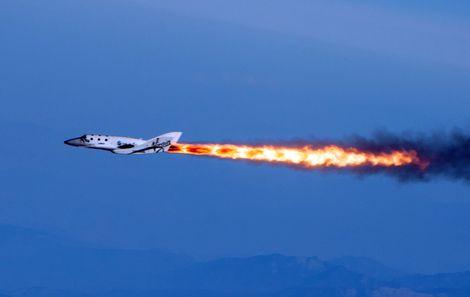 Ruimtevliegtuig SpaceShipTwo