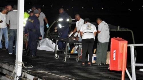 De co-piloot overleefde het ongeluk niet | Foto sxmislandtime.com