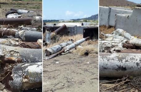 Omvang asbest Isla onbekend | Foto Jaime Córdoba