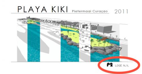 P2 Loge N.V.: Project van Nafl. 1,3 miljard. Fase 1: 1100 meter strand (van 15 meter) en een boulevard (van 10 meter breed) met 2 eilanden van 5000 m2 per stuk van Marichi tot Beachclub Saint Tropez. Gevolgd door fase 2: 'beach boulevard', deze keer met een lengte van 4,5 kilometer en de aanleg van 10 eilandjes met 2000 hotelkamers en diverse casino's