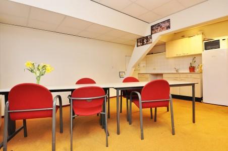 In het pand dat Marvelyne Wiels op het oog heeft, PRINSEGRACHT-63-65 Den-Haag is reeds een keuken aanwezig