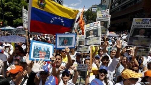 Venezolaans protest voor vrijlating oppositie